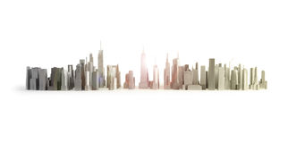New York City Isolated Royalty Free Stock Photos