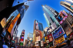 Times Square is a symbol of New York City Stock Images