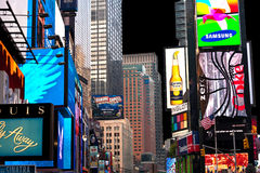 Times Square is a symbol of New York City Royalty Free Stock Image