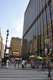New York City, am 2. Juli: Madison Square Garden in Manhattan von New York City in Vereinigten Staaten stockbilder