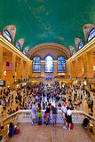 Grand central station during the afternoon rush hour Royalty Free Stock Photos