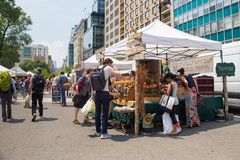 Greenmarket Farmers Market Union Square NYC Royalty Free Stock Image