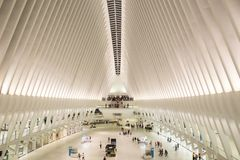 Oculus Interior New York City Royalty Free Stock Images