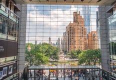 NEW YORK CITY - JUNE 2013: Time Warner Building modern interior Stock Images