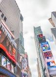 NEW YORK CITY - JUNE 2013: Times Square in Midtown. New York att Stock Photos