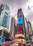 NEW YORK CITY - JUNE 2013: Times Square in Midtown. New York att Stock Photo