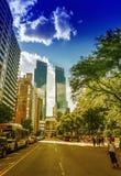 NEW YORK CITY - 14. JUNI 2013: Touristen auf St. 59 mehr als 50 m Stockbilder