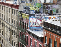 New York City kvarter Royaltyfri Bild