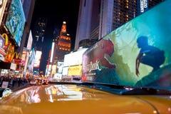New York City la nuit Image stock