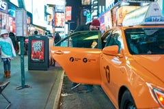 New York City la nuit Photos libres de droits