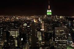 New York City la nuit Photo stock