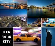 New York City la nuit Photo libre de droits