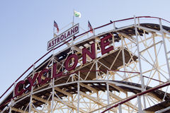 New York City Landmark, Iconic Cyclone Stock Photography