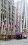 New York City landmark, Radio City Music Hall in Rockefeller Center Stock Photos