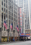 New York City landmark, Radio City Music Hall in Rockefeller Center Stock Photo