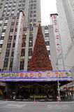 New York City landmark  Radio City Music Hall in Rockefeller Center Royalty Free Stock Photography
