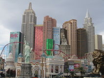New York City,Las Vegas Royalty Free Stock Images