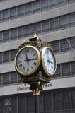 New York City, le 1er juillet : Trump l'horloge de tour de la Cinquième Avenue à Manhattan de New York City aux Etats-Unis Image stock
