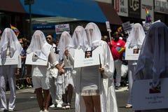 New York City 2016 LGBT Pride March fotografía de archivo libre de regalías