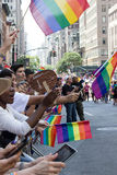 2016 New York City LGBT Pride March Royalty Free Stock Image