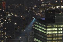 New York City lights Royalty Free Stock Image