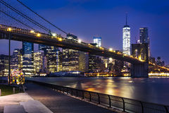 New York  City lights Stock Image