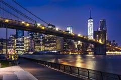 New York  City lights Stock Image