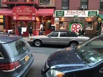 New York City lilla Italien royaltyfri bild