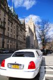 New York City limousine royaltyfri foto