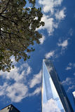New York City. Looking up at World Trade Center Tower One stock photography