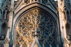 New York City/los E.E.U.U. - 19 de julio de 2018: Faca de la catedral del ` s de St Patrick fotos de archivo libres de regalías