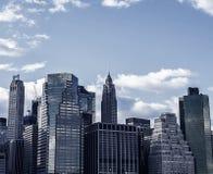 New York City Lower Manhattan royalty free stock image