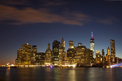 New York City - Lower Manhattan (2014) Stock Photos