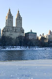 New York City Luxury Apartments, Central Park Royalty Free Stock Photo