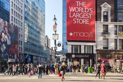 New York City Macys Photographie stock libre de droits