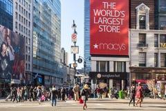 New York City Macys Lizenzfreie Stockfotografie