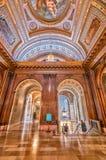 NEW YORK CITY - 20 MAI : Intérieur de bibliothèque publique de New York sur M Photographie stock libre de droits