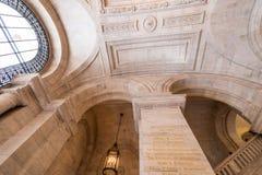 NEW YORK CITY - 20 MAI : Intérieur de bibliothèque publique de New York sur M Images stock