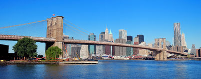 New York City Manhatta Royalty Free Stock Photo