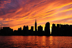 New York City Manhattan Royalty Free Stock Photography