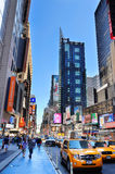 New York City Manhattan 42nd street Royalty Free Stock Photos