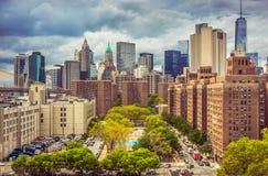 New York City Manhattan Immagine Stock
