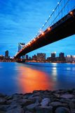 New York City Manhattan Bridge Royalty Free Stock Photos