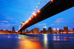 New York City Manhattan Bridge Stock Photography