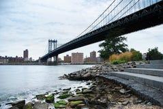 New York City Manhattan bridge Royalty Free Stock Photos