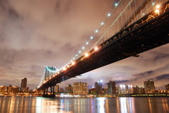 New York City Manhattan Bridge Royalty Free Stock Photo