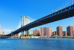 New York City Manhattan Bridge Royalty Free Stock Images
