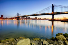 New York City, Manhattan bridge Royalty Free Stock Image