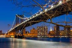 New York City -  Manhattan Bridge Stock Photography