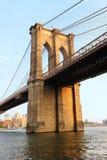 New York City Manhattan Brooklyn Bridge Stock Image